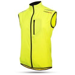 Løbevest Fusion S100 til kvinder og mænd leveres i flot gul, sort , blå eller orange farve.
